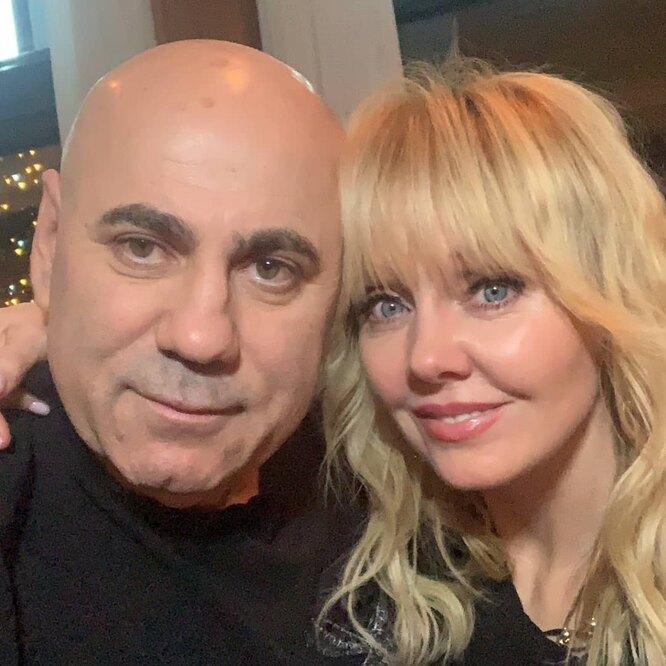 Валерия с мужем
