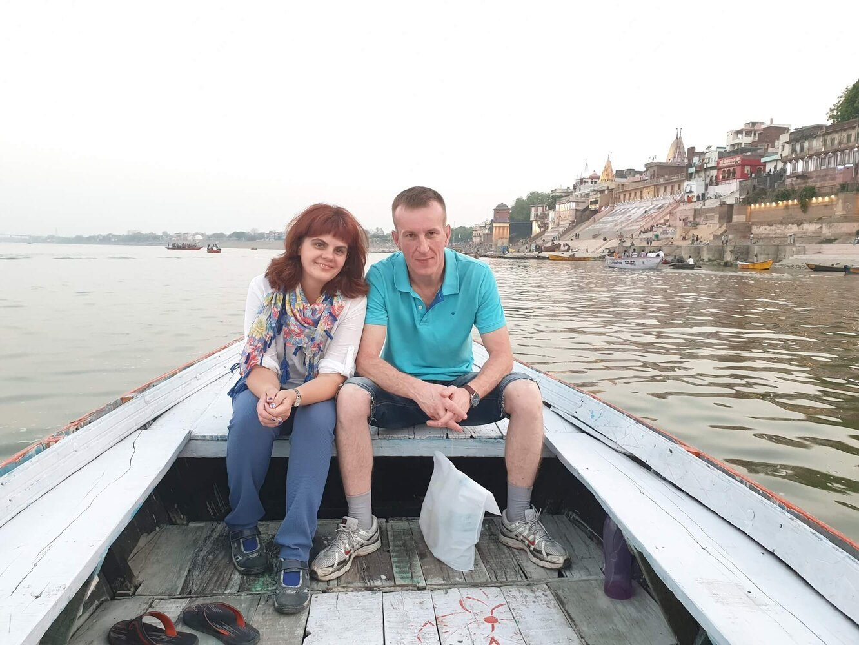 Татьяна Дробышевская с мужем