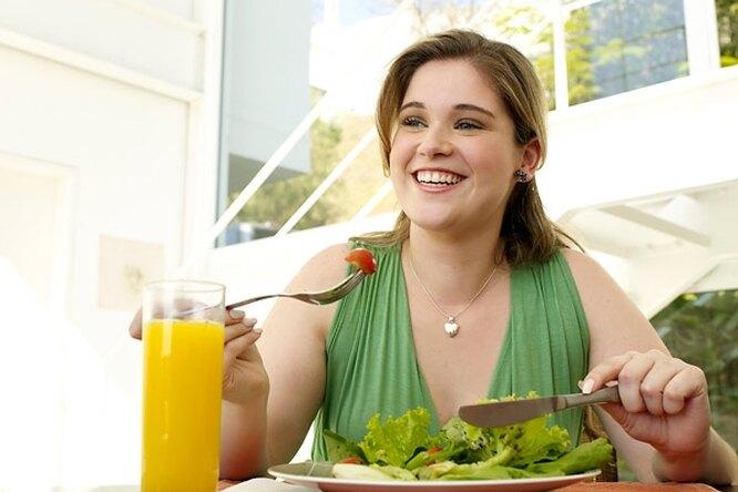 Вегетаринаская диета полнит!