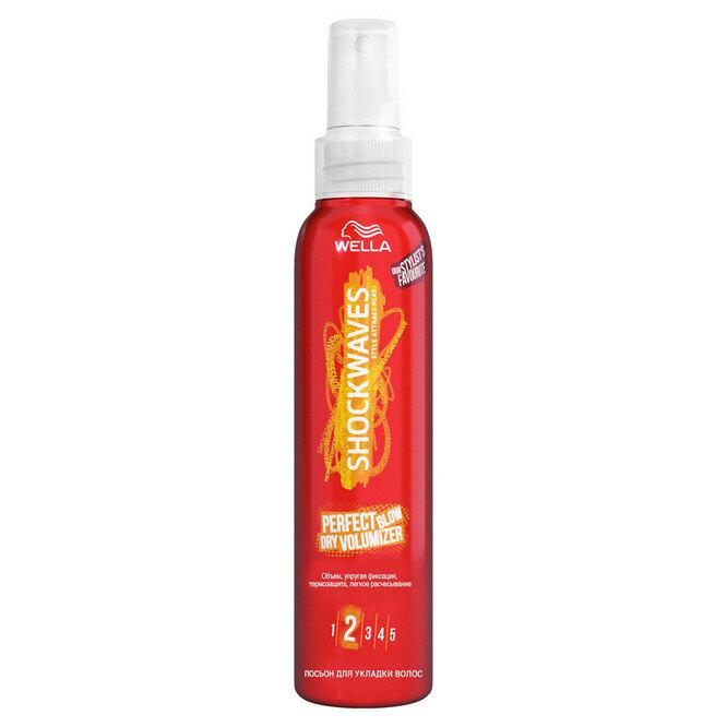 Гель-спрей Wella Shockwaves Perfect Blow Dry Volumizer, 341 руб