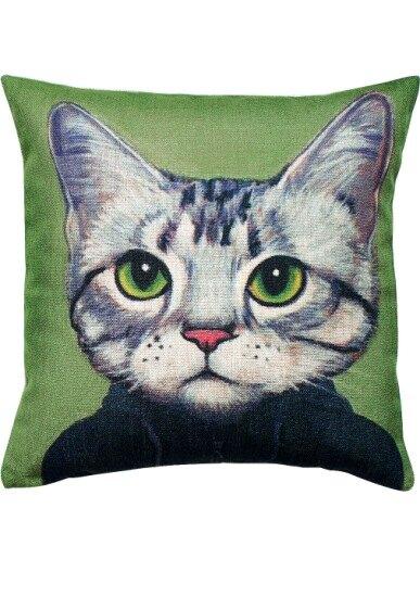 Подушка Cat Portrait, Kid, takemehomeshop.ru