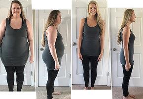 Маленькими шагами и порциями к похудению: минус 55 килограммов за год