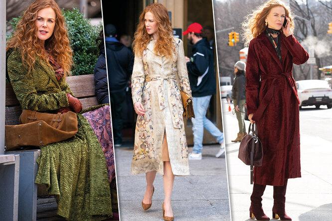 Как подобрать пальто подрыжий цвет волос:  учимся уНиколь Кидман