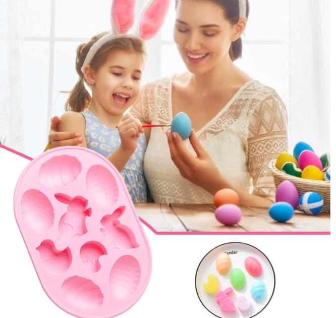 Силиконовые формы для выпечки пасхальных яиц, 226 руб.