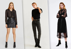Осенний тренд: как не выглядеть глупо в абсолютно черном