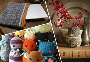 10 полезных вещей, которые вы можете сделать из старого свитера