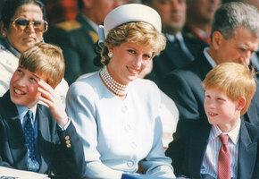 Всё напоминает мне о ней: как принцесса Диана воспитывала своих мальчиков