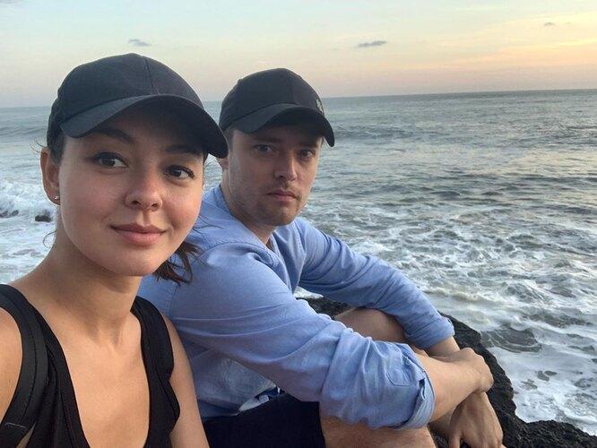 Марина Кравец с мужем Аркадием Водаховым