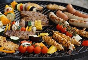 26 рецептов блюд в полоску. Все на гриле: мясо, курица, рыба, овощи и даже яйца