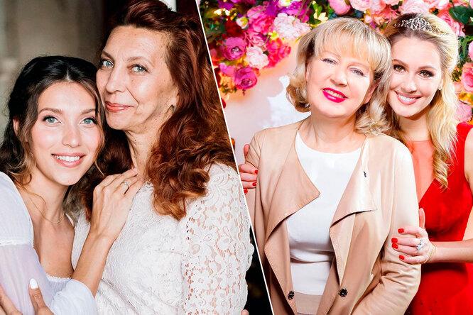 Вся вмаму: сравните 15 знаменитых женщин иих матерей
