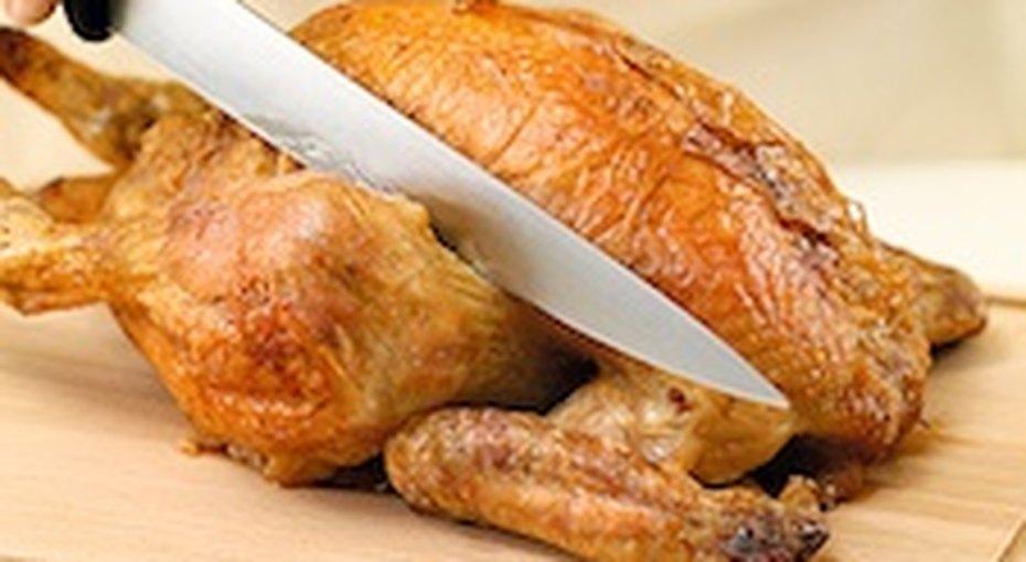 Как правильно разрезать запеченную птицу?