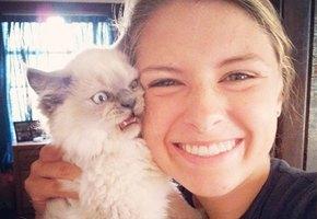 10 случаев, когда кот не хотел фотографироваться