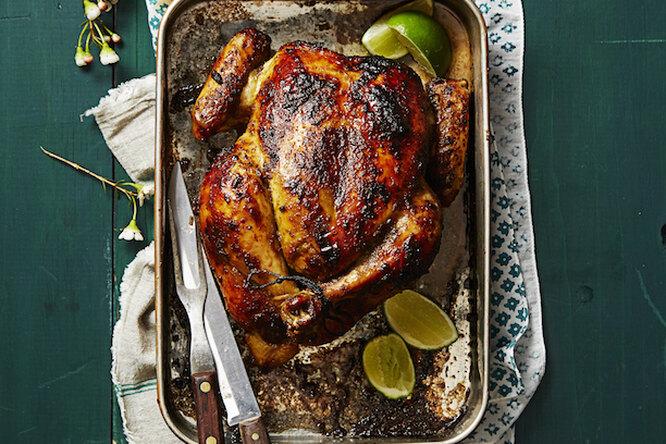 Вкуснейшая запеченная курица