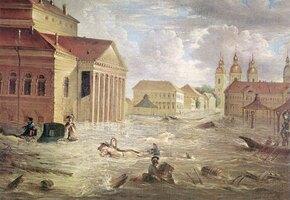История великой катастрофы: самое крупное наводнение в Петербурге