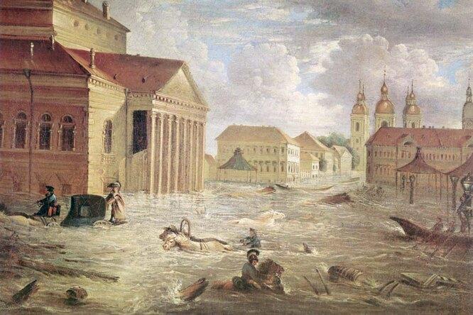 История великой катастрофы: самое крупное наводнение вПетербурге
