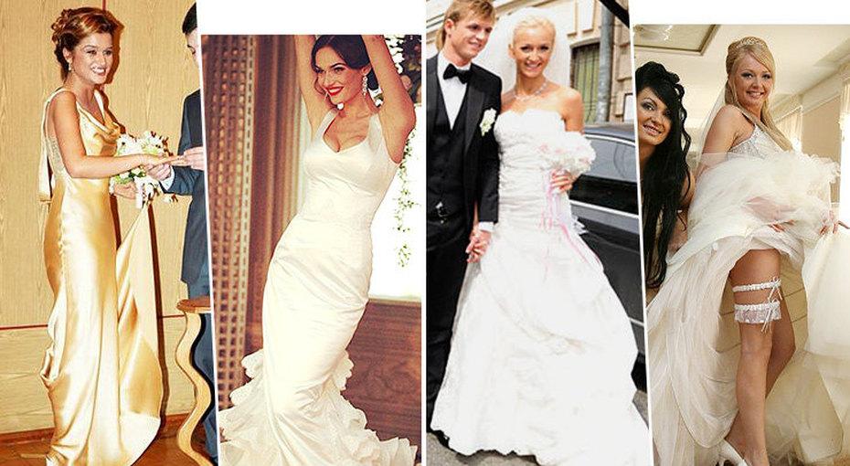 Громкие свадьбы «Дома-2»: какие платья выбирали звезды проекта