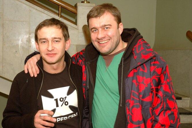 Константин Хабенский и Михаил Пореченков