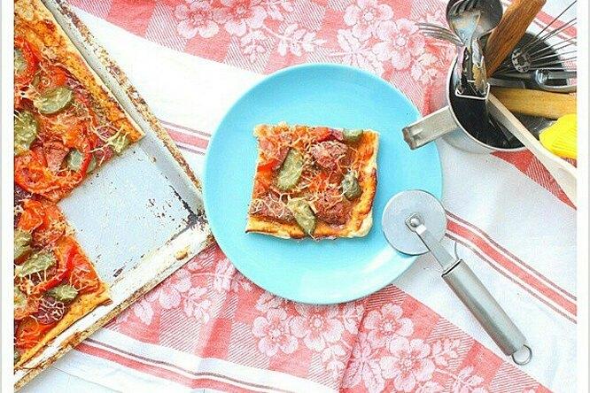 Оригинальное тесто для пиццы