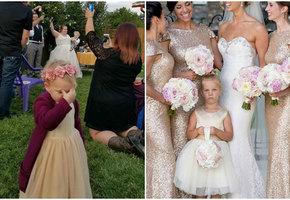 Дети на свадьбах — это очень весело!
