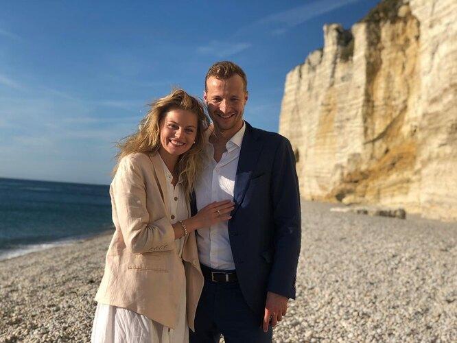 Анастасия Стежко с мужем Дмитрием Старостиным