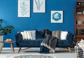 Интерьер в синем цвете: расширяем пространство, пробуждаем ассоциации