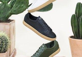 Не отличить: кроссовки из «кожи кактуса» представил модный бренд