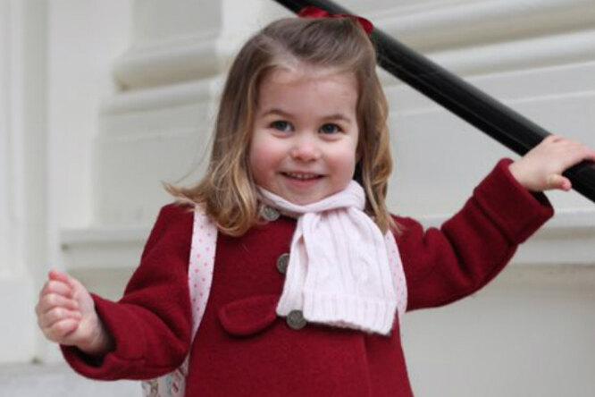 Принцесса Шарлотта пошла вдетский сад. Фото отгерцогини Кэтрин