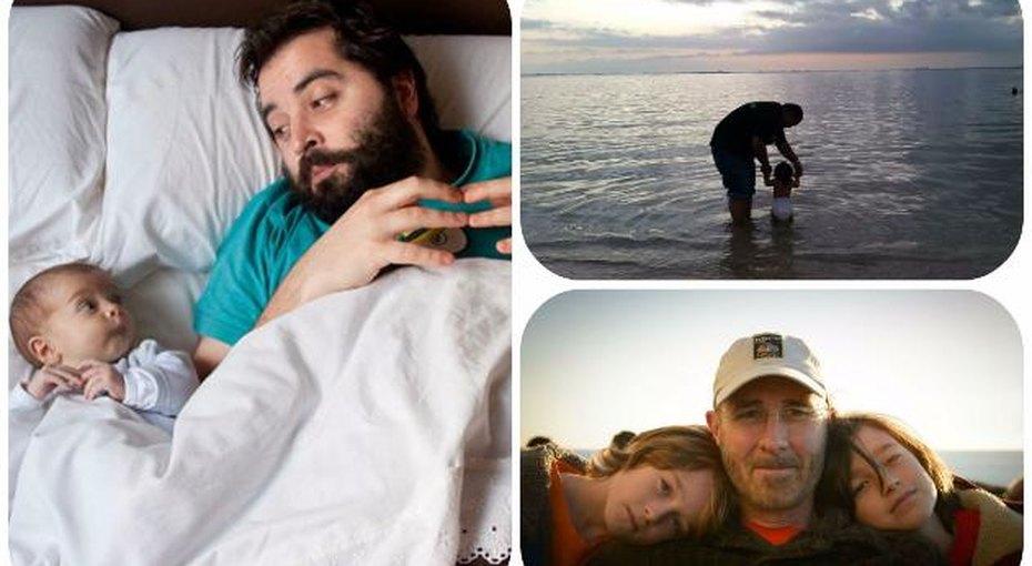 День отца. Невероятно трогательные фотографии пап иих малышей
