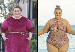 Женщина изменила свою жизнь, превратившись за год в звезду фитнеса
