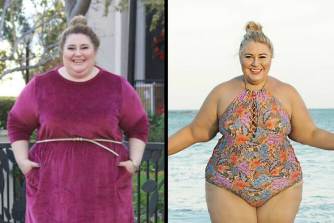Женщина изменила свою жизнь, превратившись загод взвезду фитнеса