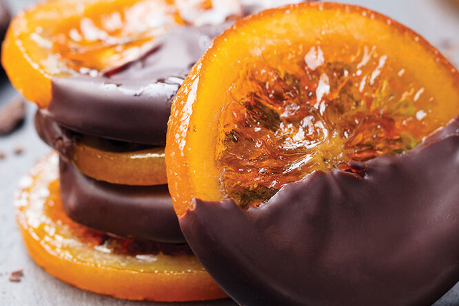Апельсиновые дольки сшоколадом – лучше самых дорогих конфет