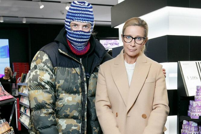 Ника Белоцерковская ирэпер Pharaon наоткрытии флагмана Sephora вСанкт-Петербурге