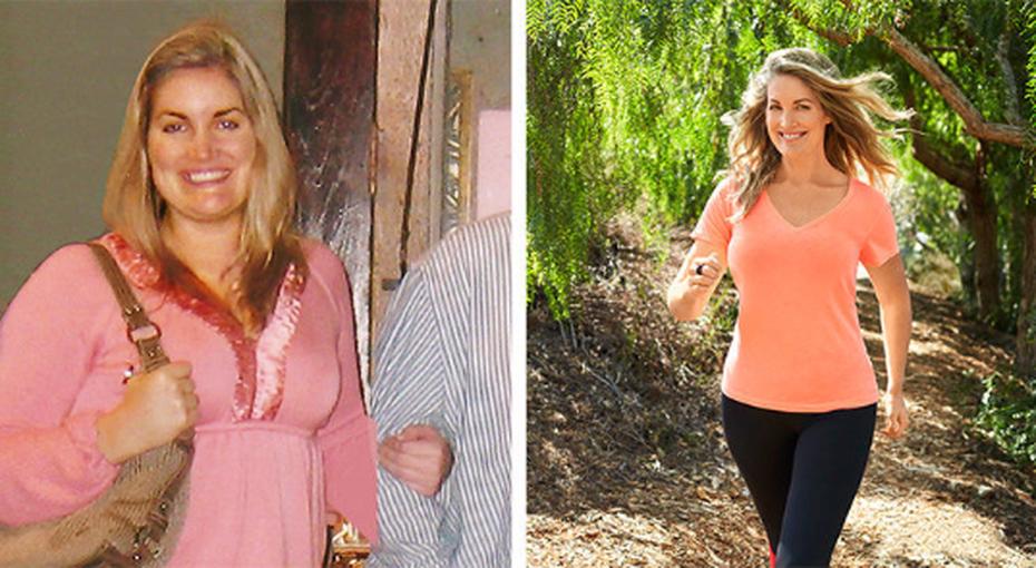 Она сбросила 46 килограммов, просто начав прогуливаться каждый день