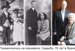 Настоящая любовь вечна. Трогательные фотографии семейных пар «тогда» и «сейчас»