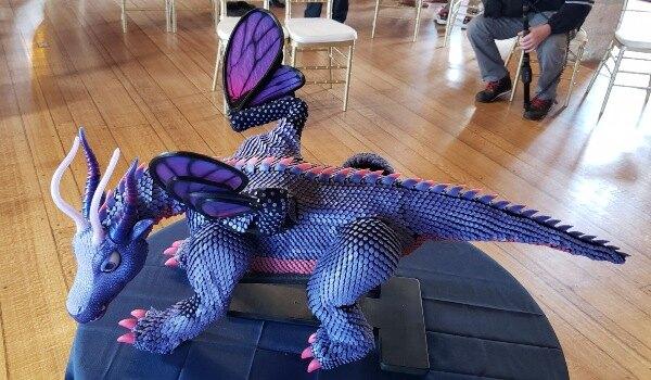 робот дракон