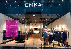 Первый магазин EMKA в сети ТЦ «Мега»
