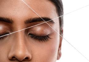 Как удалять волосы с лица ниткой. Пошаговая инструкция с видео