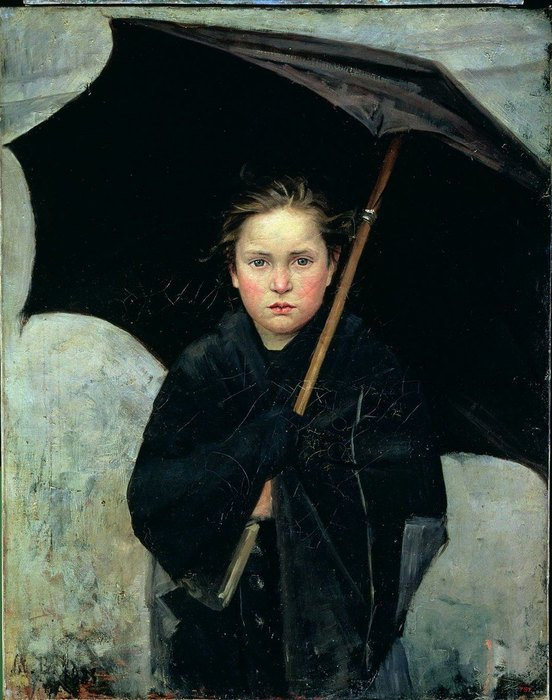 «Девочка сзонтиком», 1883