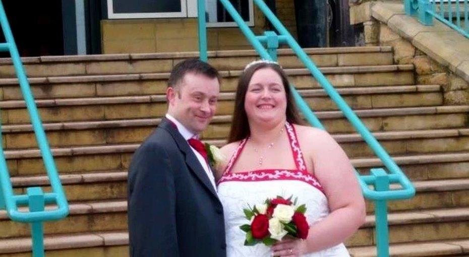 Женщина за2 года похудела вдвое чтобы помочь мужу