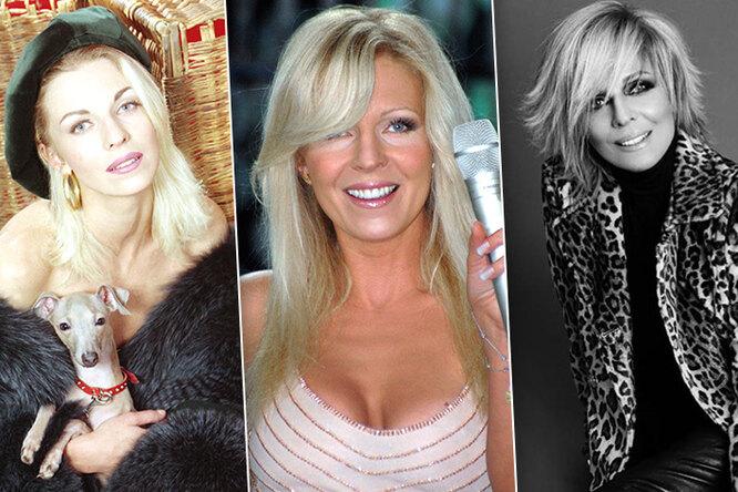 Как менялась Наталья Ветлицкая в1990-е: макияж, прическа, аксессуары