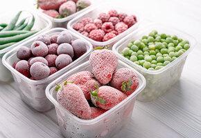 Ягоды, овощи и зелень: 10 правил заморозки