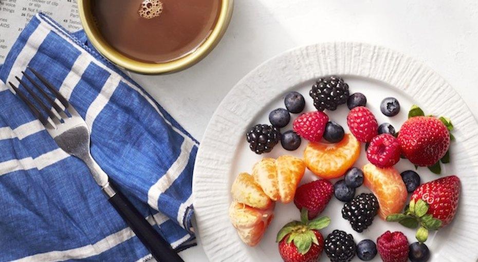 Быстрый издоровый летний завтрак
