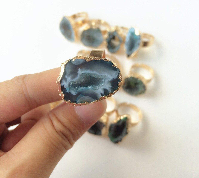 Кольцо со вставкой из кварца, Paglisten, 170 руб