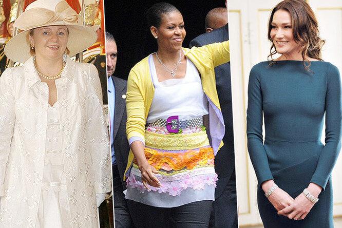 Обама, Бруни, Трамп: самые громкие модные провалы первых леди