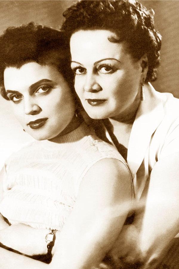 Татьяна Окуневская с дочерью