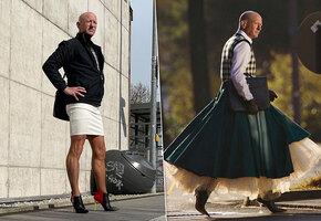 «Жене тоже нравится»: 61-летний инженер дал бой стереотипам и надел каблуки