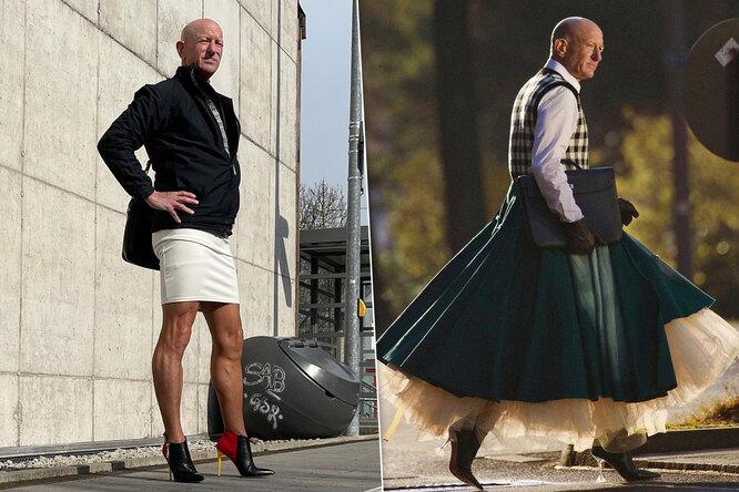 «Жене тоже нравится»: 61-летний инженер дал бой стереотипам инадел каблуки