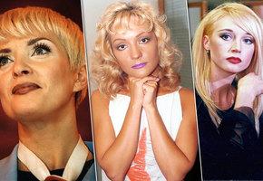 Дух 90-х: самые необычные макияжи российских знаменитостей