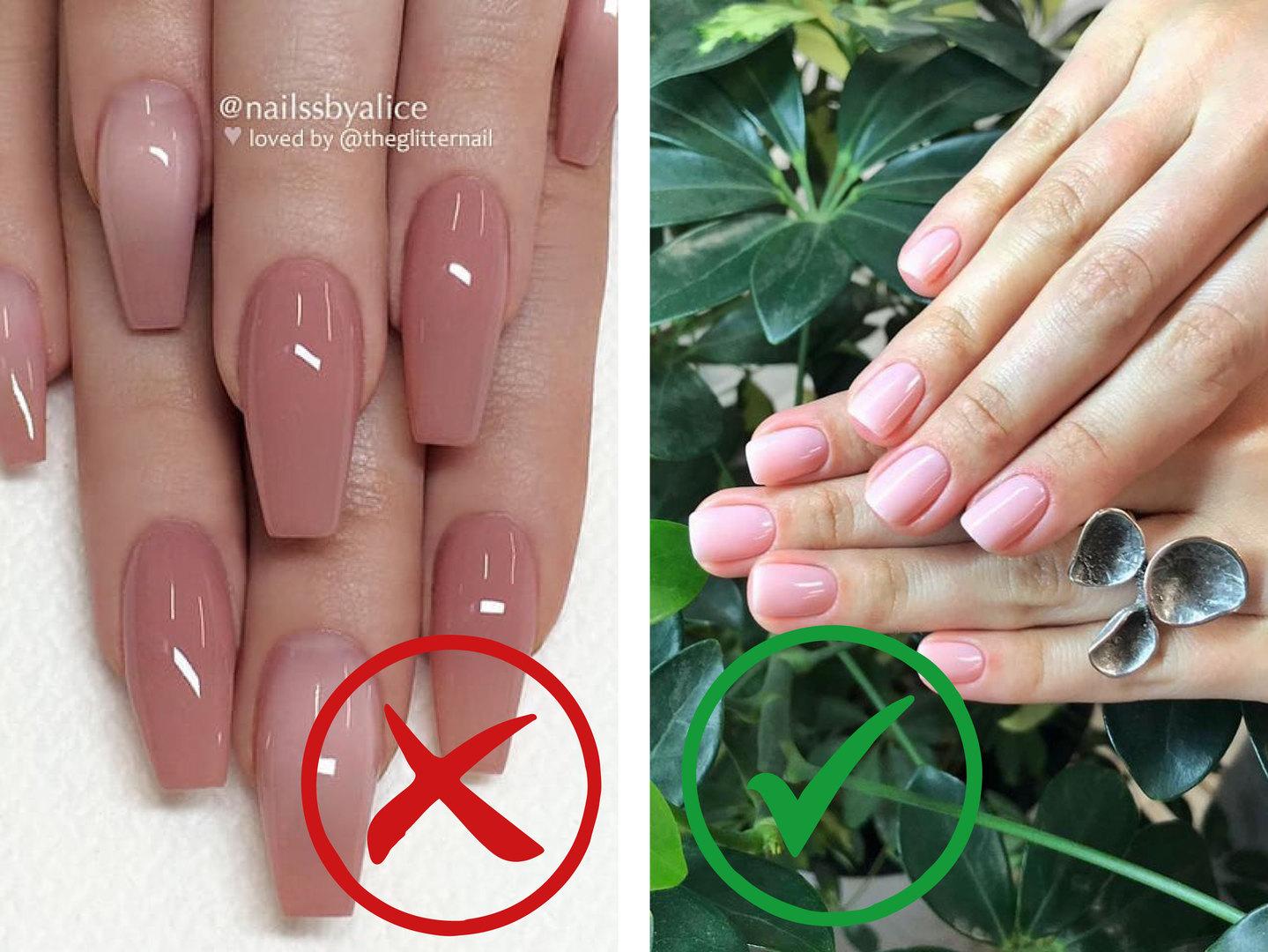 Идеи стильного маникюра на острые ногти/Модный дизайн ногтей на ... | 1080x1439