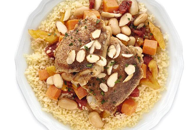 Курица по-марокански
